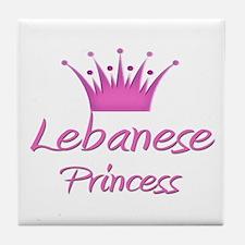 Lebanese Princess Tile Coaster