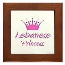 Lebanese Princess Framed Tile