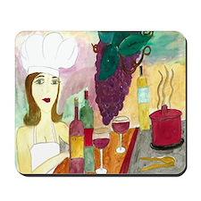 Pretty Chef Mousepad