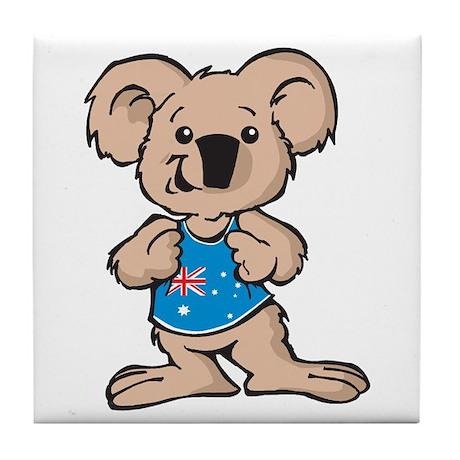 Cool Koala Tile Coaster