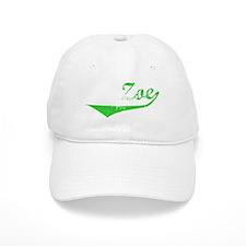 Zoe Vintage (Green) Baseball Cap