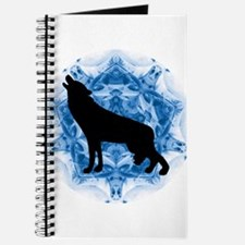 Wolf Silhouette Journal