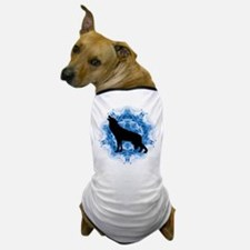 Wolf Silhouette Dog T-Shirt
