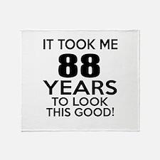 It Took ME 88 Years Throw Blanket