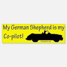 GSD Bumper Car Car Sticker