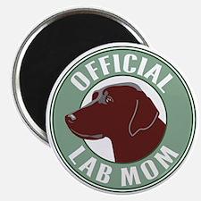 Chocolate Lab Mom - Magnet