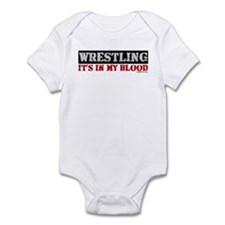 WRESTLING (IT'S IN MY BLOOD) Onesie