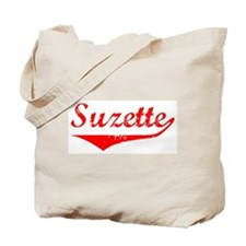 Suzette Vintage (Red) Tote Bag
