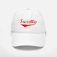 Suzette Vintage (Red) Baseball Baseball Cap