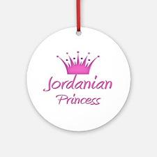 Jordanian Princess Ornament (Round)