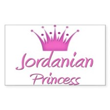 Jordanian Princess Rectangle Decal