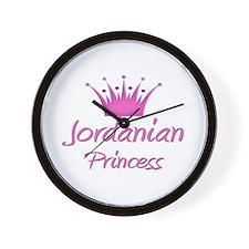Jordanian Princess Wall Clock