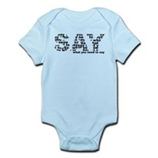 Anti Say Infant Bodysuit