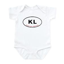 Keuka Lake New York KL Euro O Infant Bodysuit