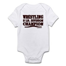 WRESTLING 8 LB. CHAMPION Infant Bodysuit