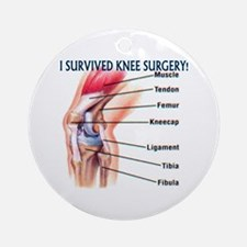 Knee Surgery Gift 6 Ornament (Round)