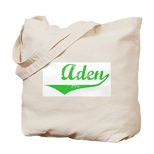 Aden Vintage (Green) Tote Bag