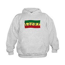 Ethiopia in Amharic with Flag Hoody