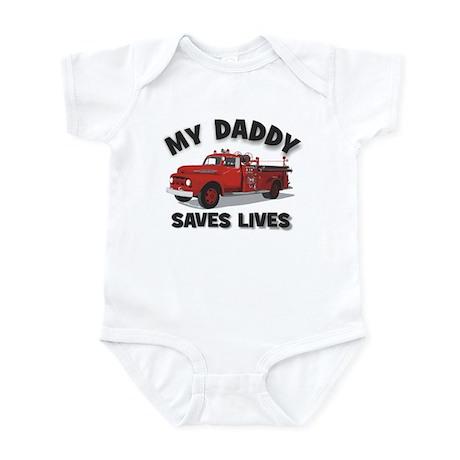 My Daddy saves lives Infant Bodysuit
