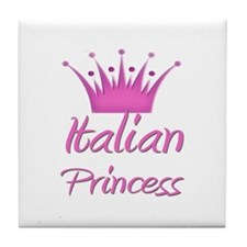Italian Princess Tile Coaster