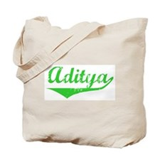 Aditya Vintage (Green) Tote Bag