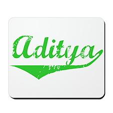 Aditya Vintage (Green) Mousepad