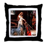 Accolade / G Schnauzer Throw Pillow