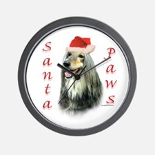 Afghan Paws Wall Clock