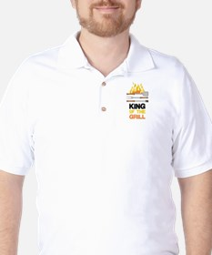 King Of Grill Golf Shirt