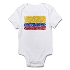 Textual Colombia Infant Bodysuit