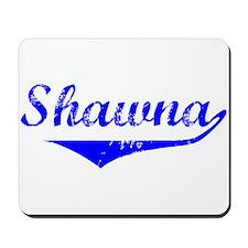 Shawna Vintage (Blue) Mousepad