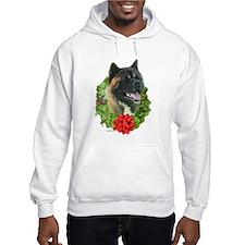Akita Wreath Hoodie