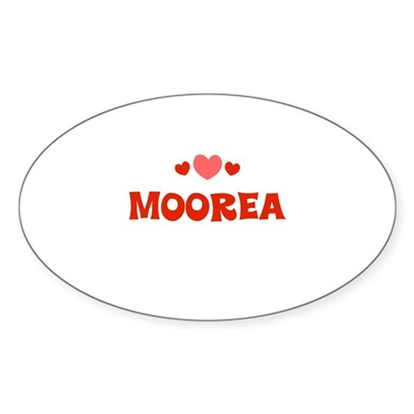 Moorea Oval Sticker