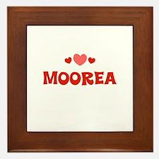 Moorea Framed Tile