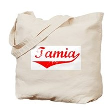 Tamia Vintage (Red) Tote Bag