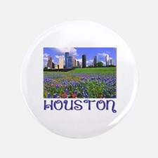 """Houston Bluebonnets 3.5"""" Button"""