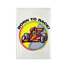 Born to Race Rectangle Magnet