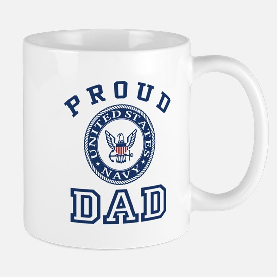 Proud US Navy Dad Mug