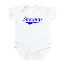 Shayna Vintage (Blue) Infant Bodysuit