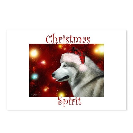 Malamute Spirit Postcards (Package of 8)