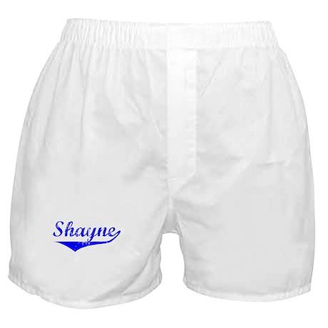 Shayne Vintage (Blue) Boxer Shorts