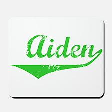 Aiden Vintage (Green) Mousepad