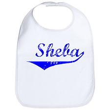 Sheba Vintage (Blue) Bib