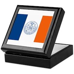 New York City Flag Keepsake Box