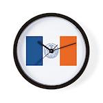 New York City Flag Wall Clock