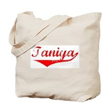 Taniya Vintage (Red) Tote Bag