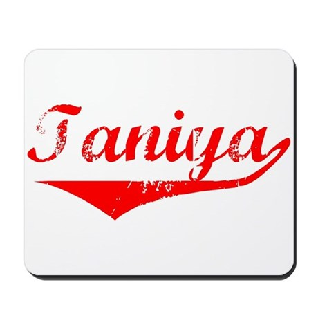 Taniya Vintage (Red) Mousepad