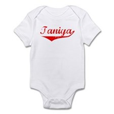Taniya Vintage (Red) Infant Bodysuit