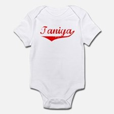 Taniya Vintage (Red) Infant Bodysuit