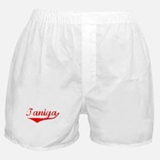Taniya Vintage (Red) Boxer Shorts